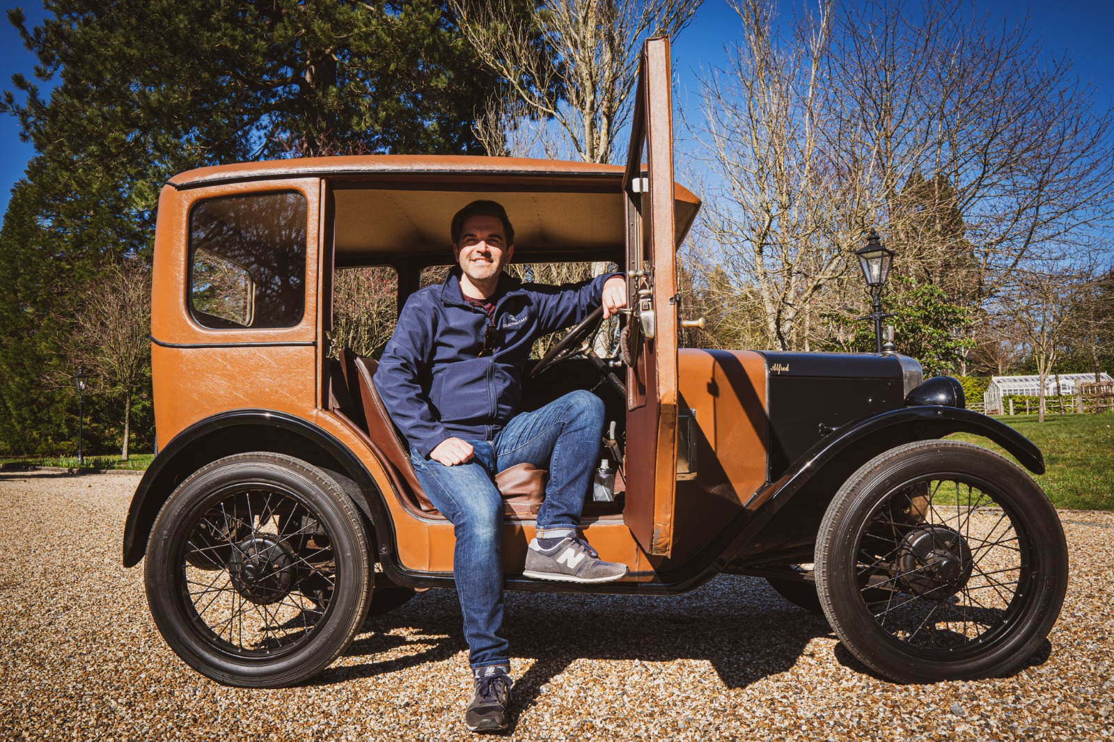 IS THE AUSTIN 7 RESPONSIBLE FOR THE MCLAREN F1?