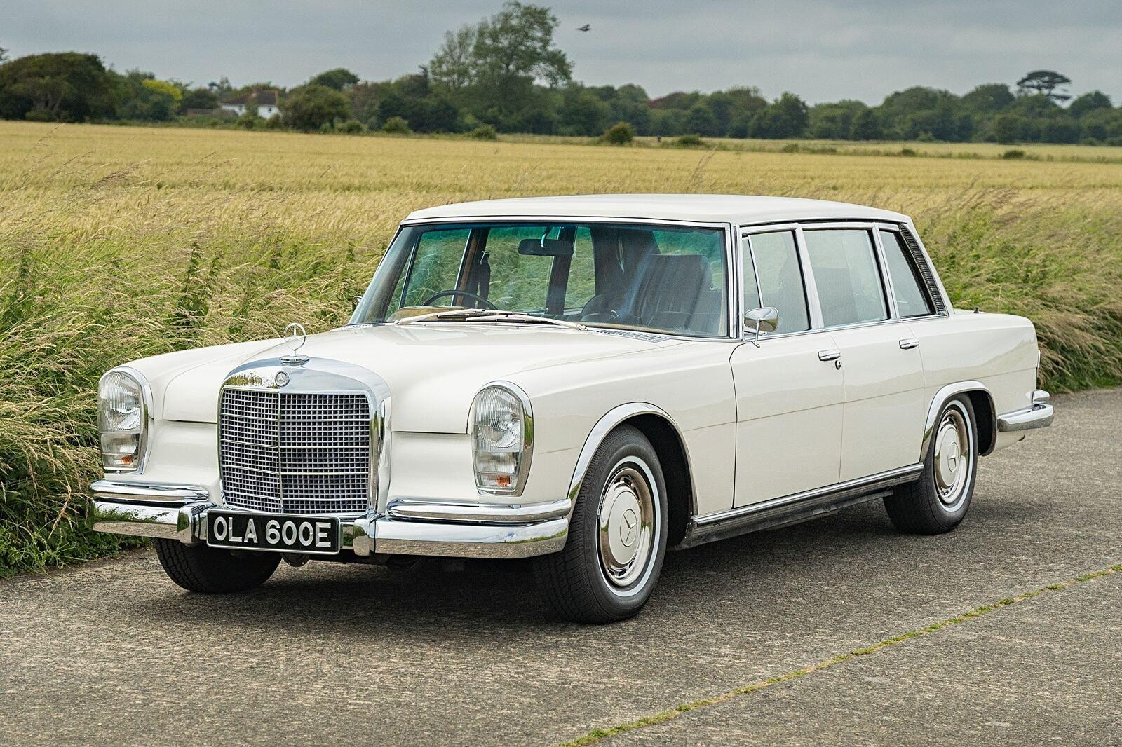 George Harrison's 1967 Mercedes-Benz 600 Hits Auction
