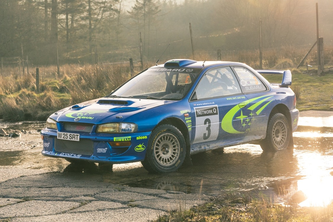 PRESENTING THE MOST ORIGINAL WRC CAR IN THE WORLD